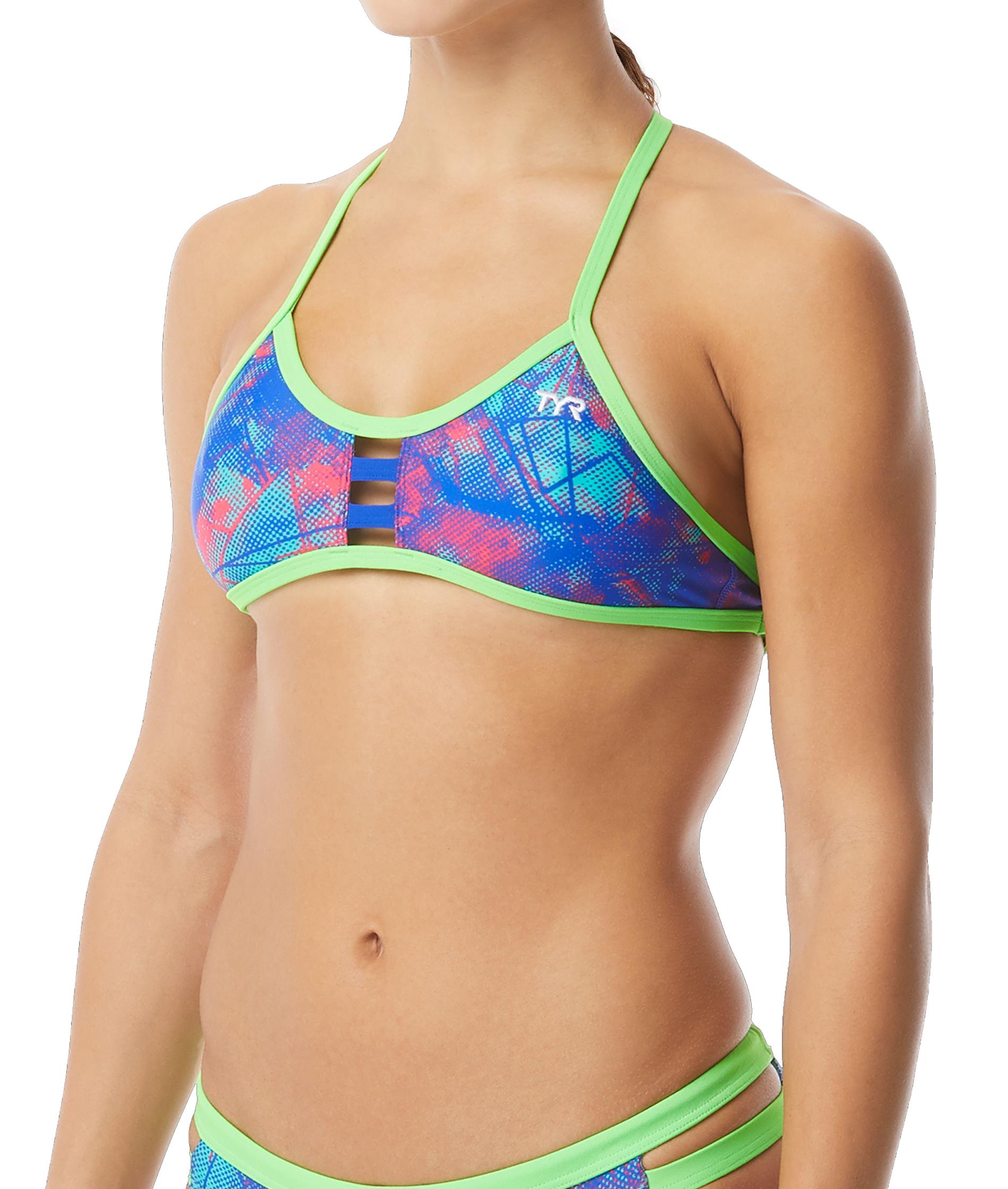 TYR Ladies Canvas Tieback Training Bikini Set