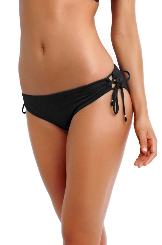 Seafolly Lace up Hipster - Black