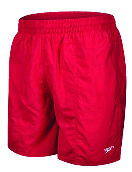 Speedo Mens 16 Solid Watershort - Red
