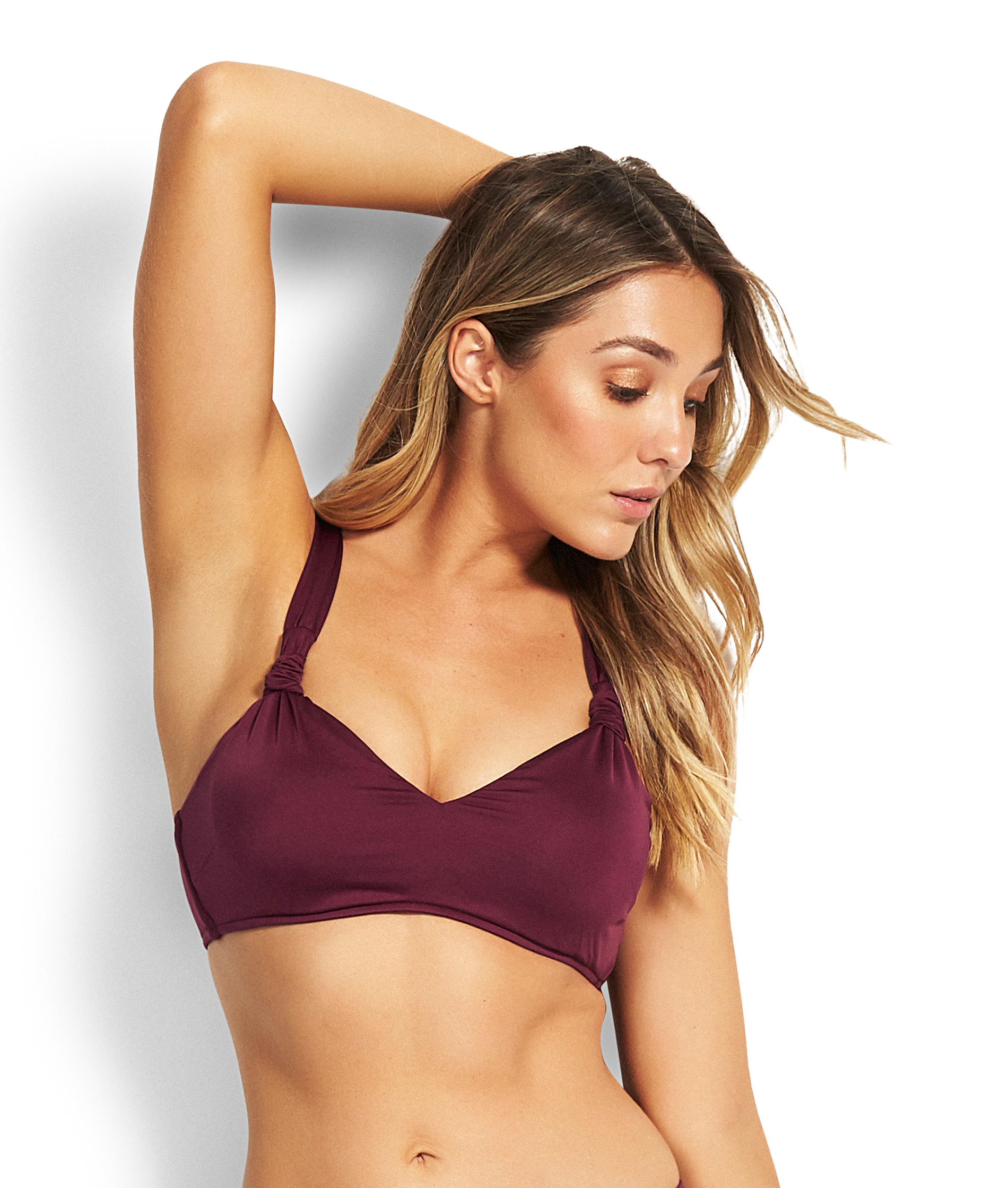 Seafolly Ladies Boysenberry DD/E Bralette