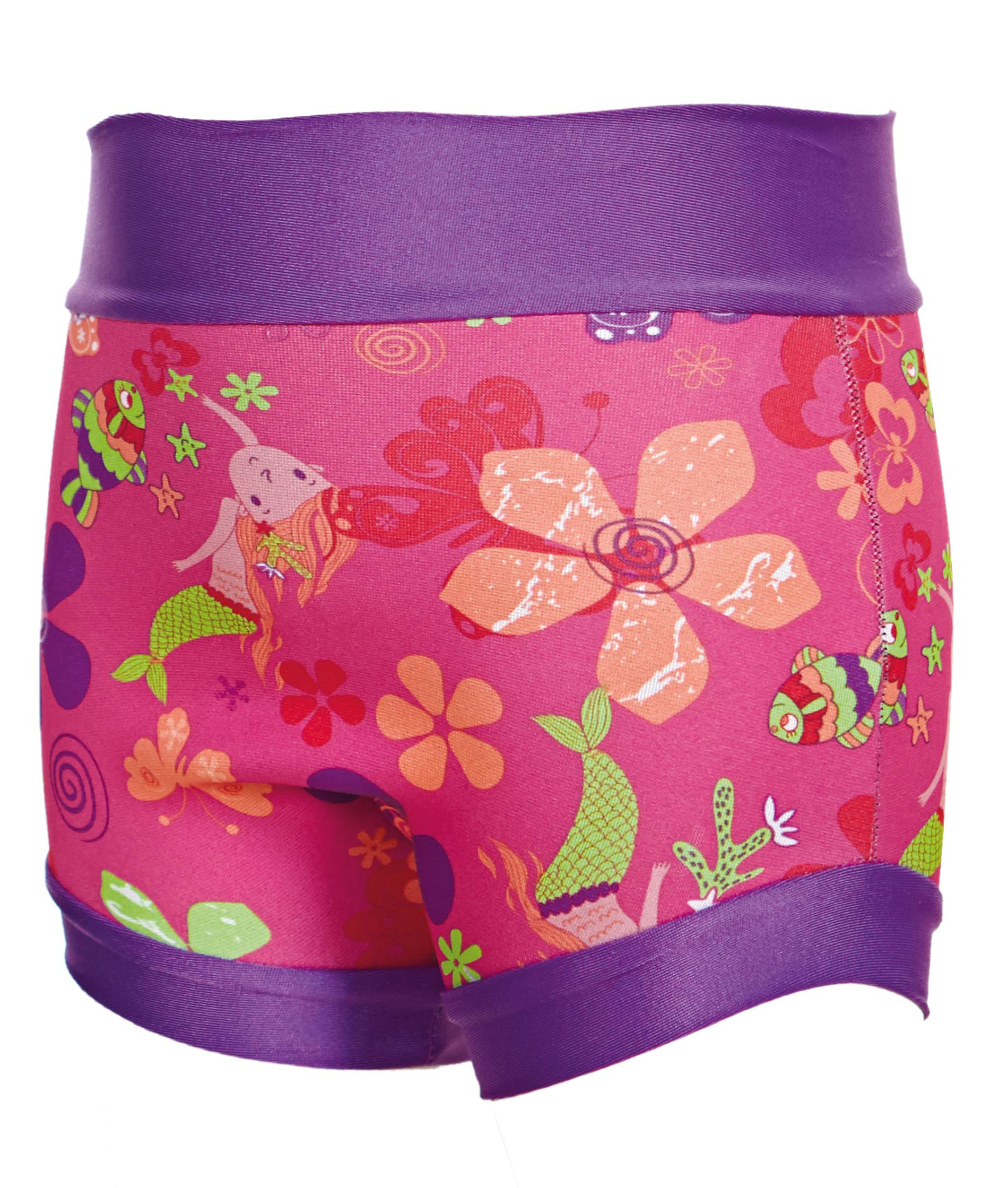 Zoggs Mermaid Flower Swimsure Nappy