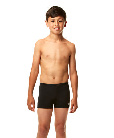 Speedo Boys Endurance+ Black Aquashort