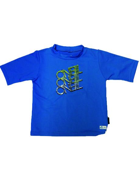 O'Neill Boys Short Sleeve Sun Top - Blue