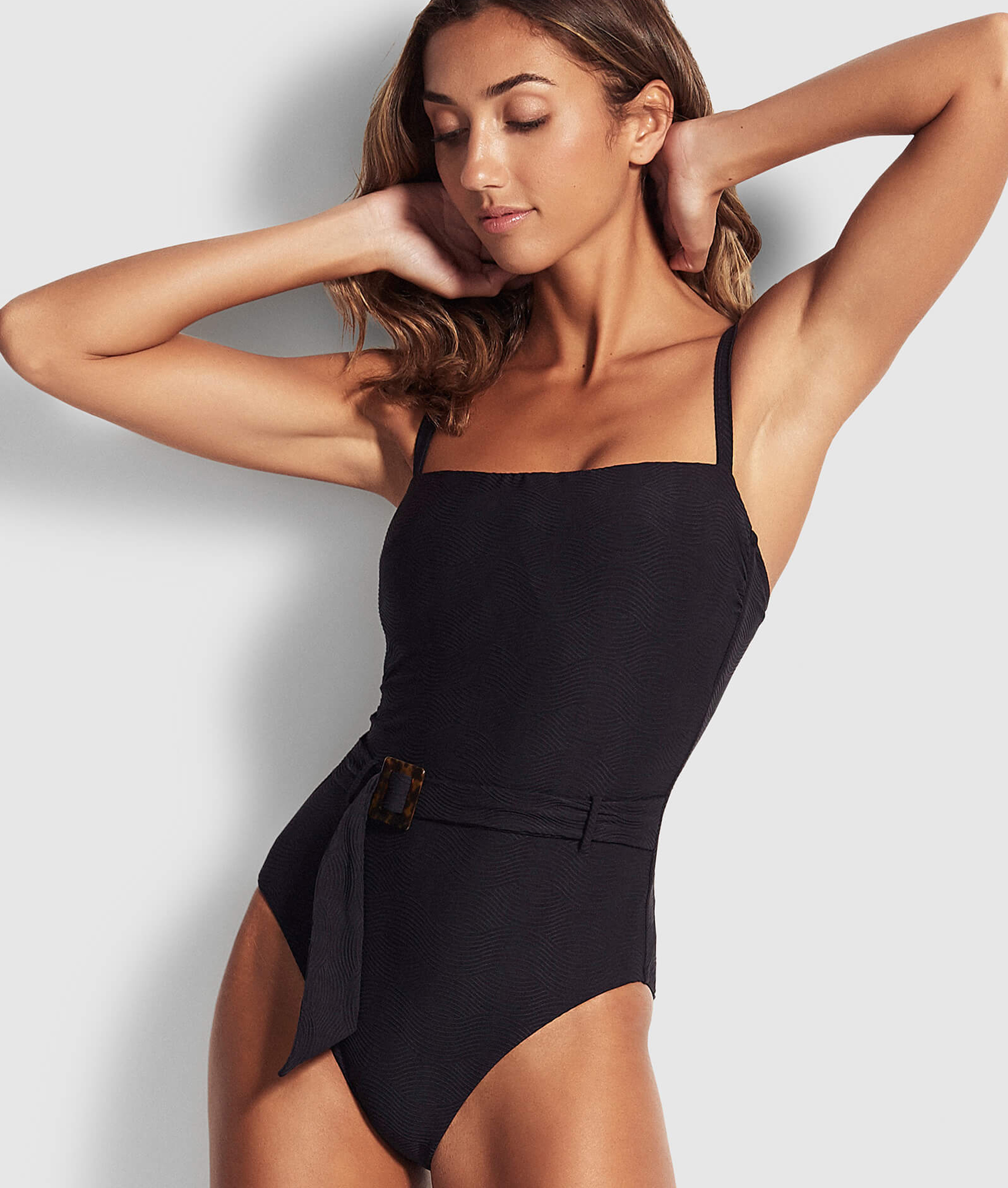 Seafolly Ladies Capri Sea DD One Piece - Black