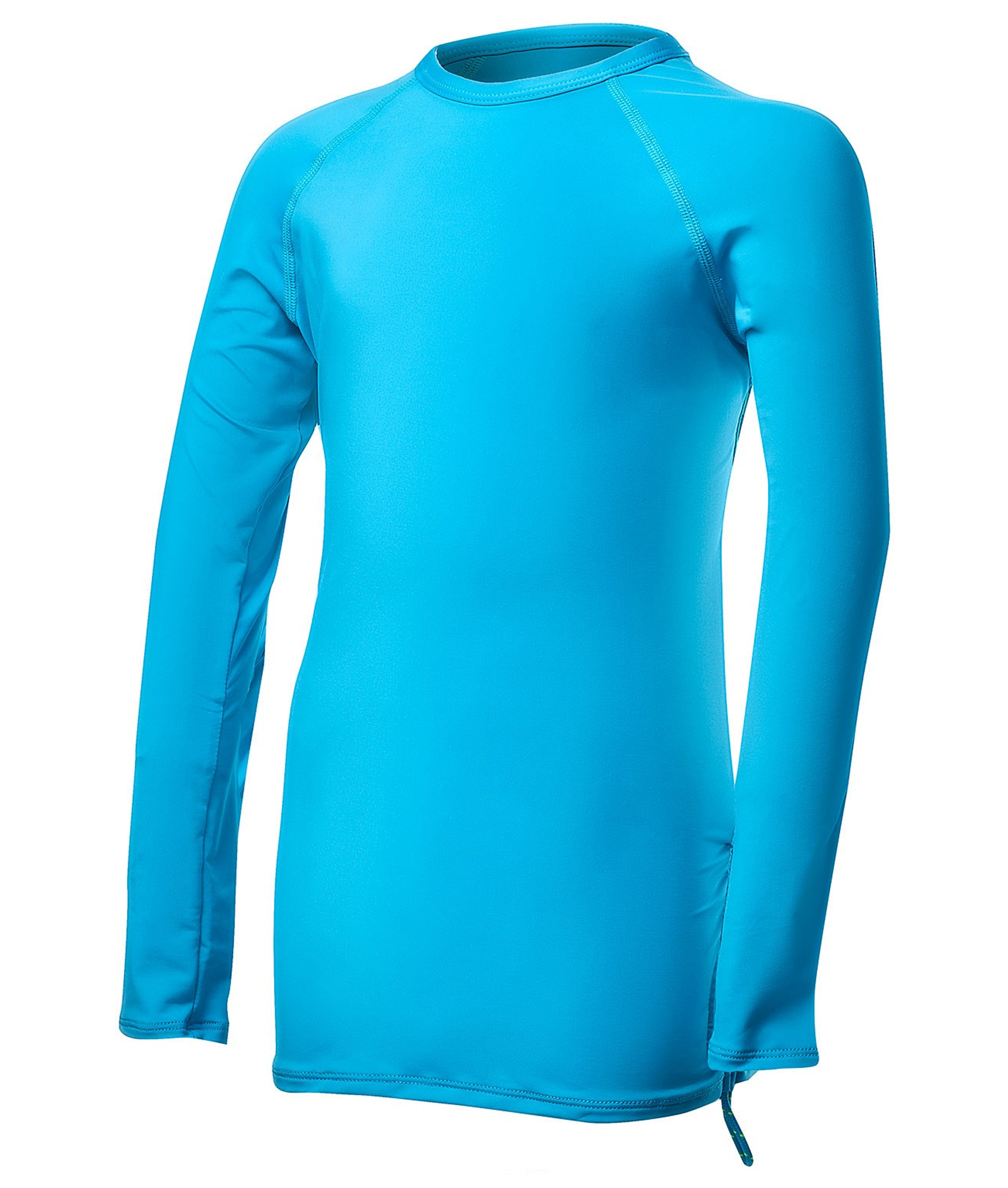 TYR Girls Solid Long Sleeve Rashguard Belize