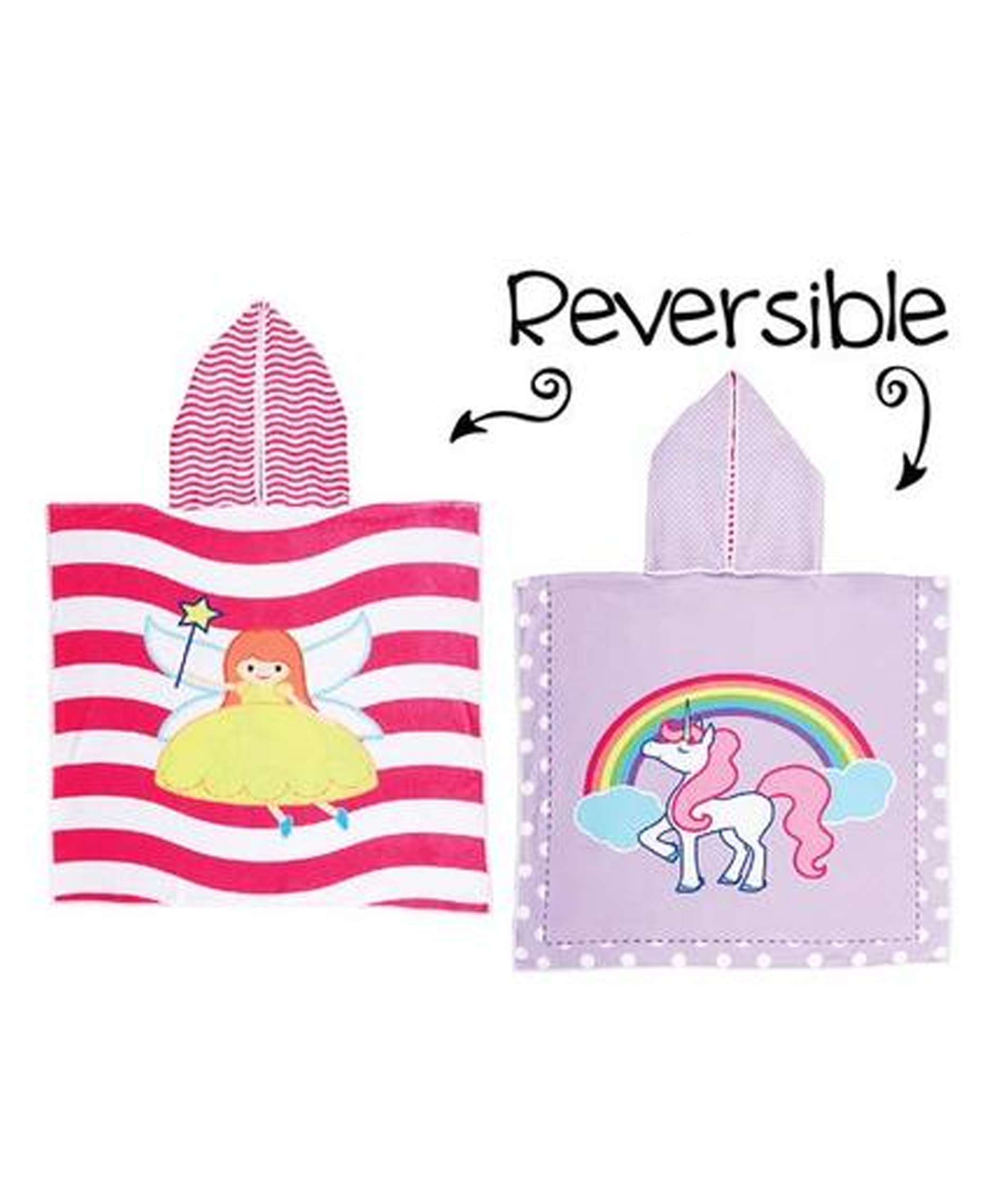 Flapjack Kids Reversible Cover-Ups - Fairy/Unicorn
