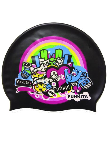 Funkita Tokyo Smackdown Swim Cap