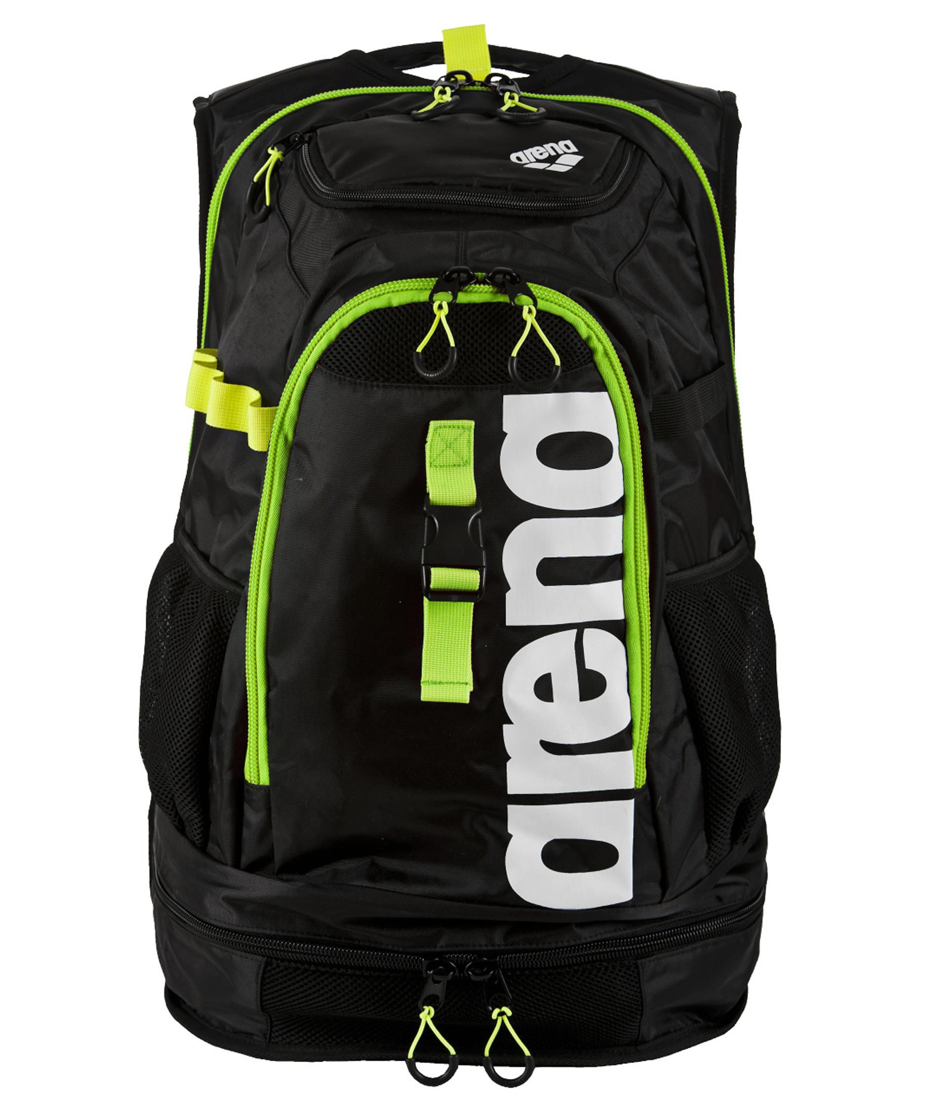 Arena Fastpack 2.1 Backpack - Black/Flou Yellow