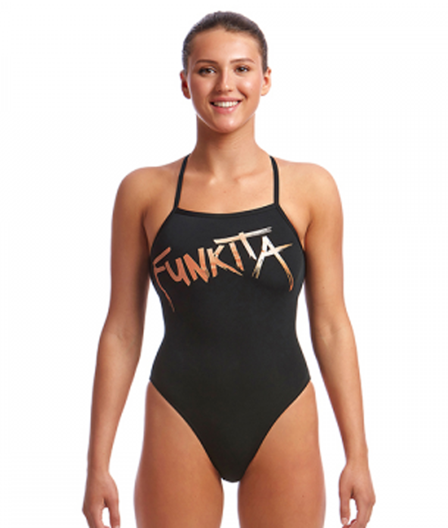 Funkita Ladies Bronzed Strapped In One Piece