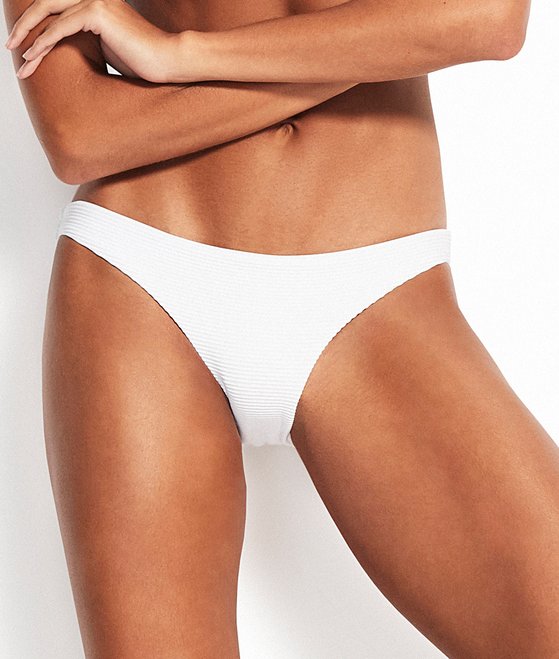 Seafolly Essentials Hipster Bikini Pant - White