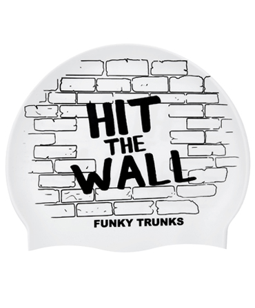 Funky Trunks Hit The Wall Swim Cap