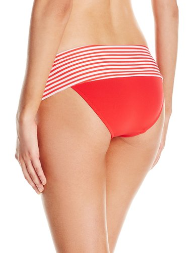 Seafolly Riviera Stripe Roll Top Hipster