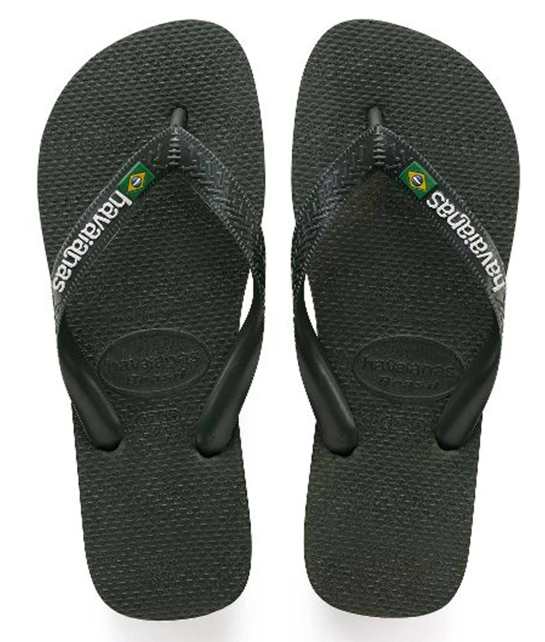 Havaianas Brasil Logo - Green Olive