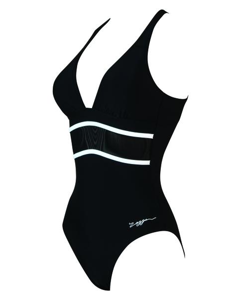 Zoggs Bohemian Mesh Crossover Swimming Costume