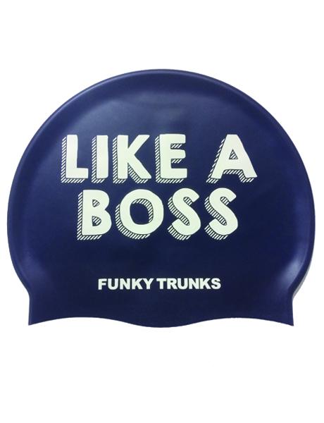 Funky Trunks Like A Boss Swim Cap