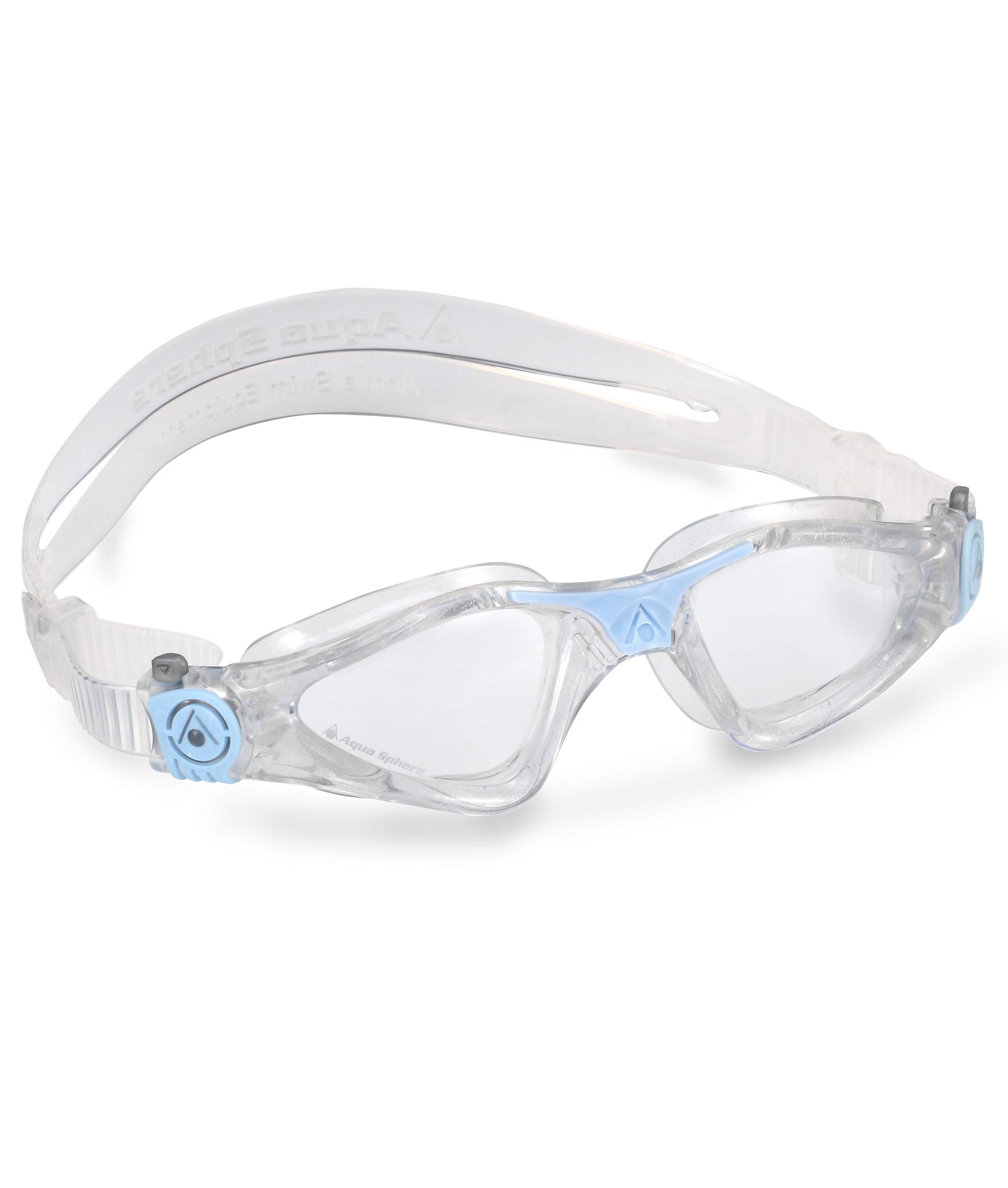 Aqua Sphere Ladies Kayenne Goggle - Blue/Clear Lens