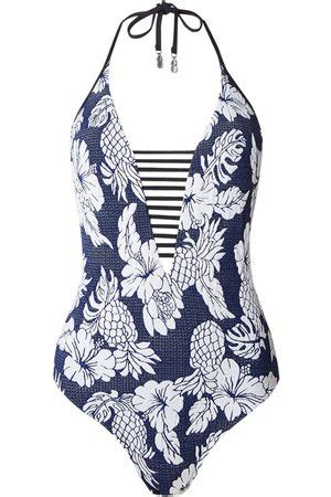Seafolly Royal Horizon Deep 'V' Maillot