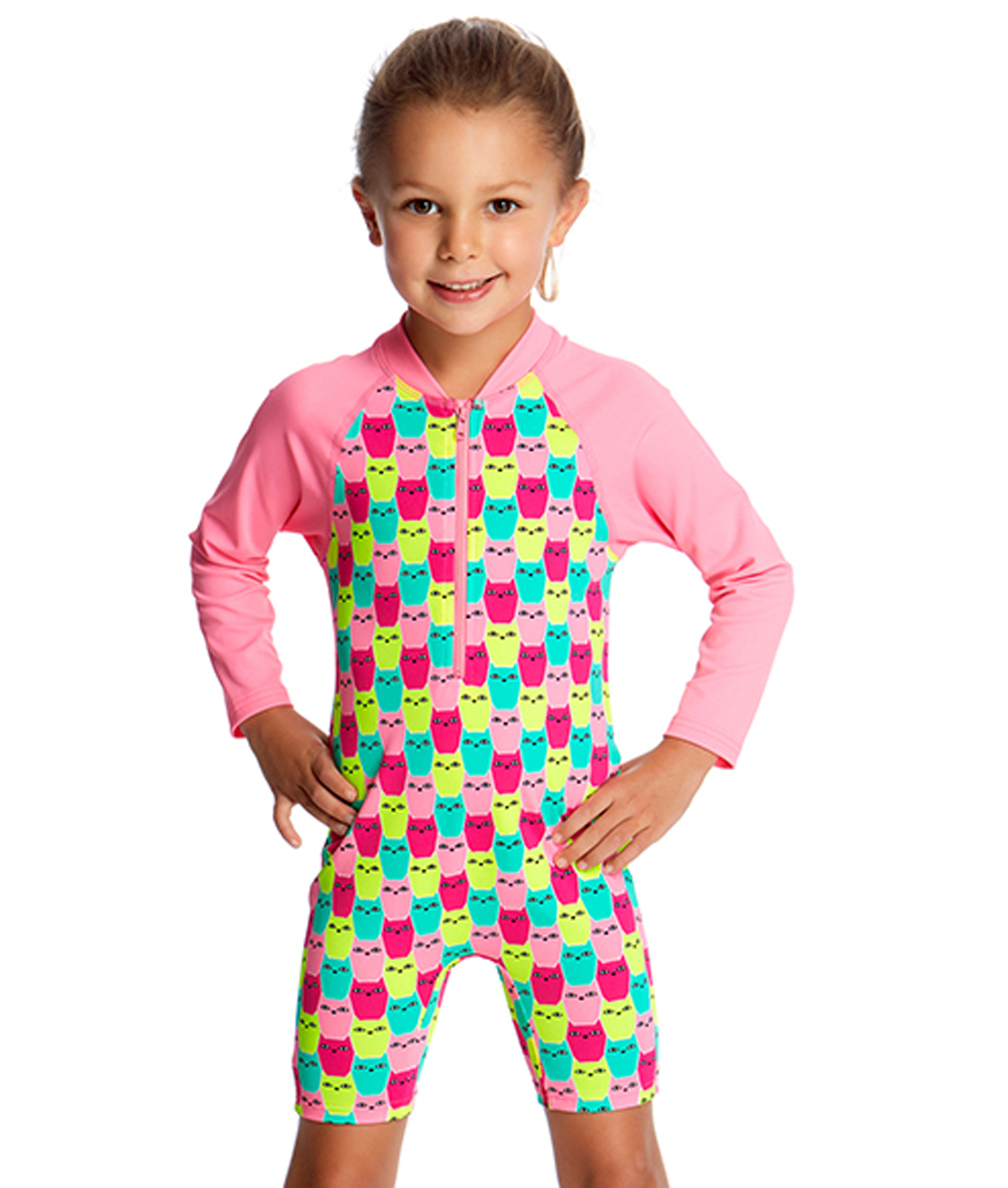 Funkita Toddler Girls Minty Mittens Go Jump Suit