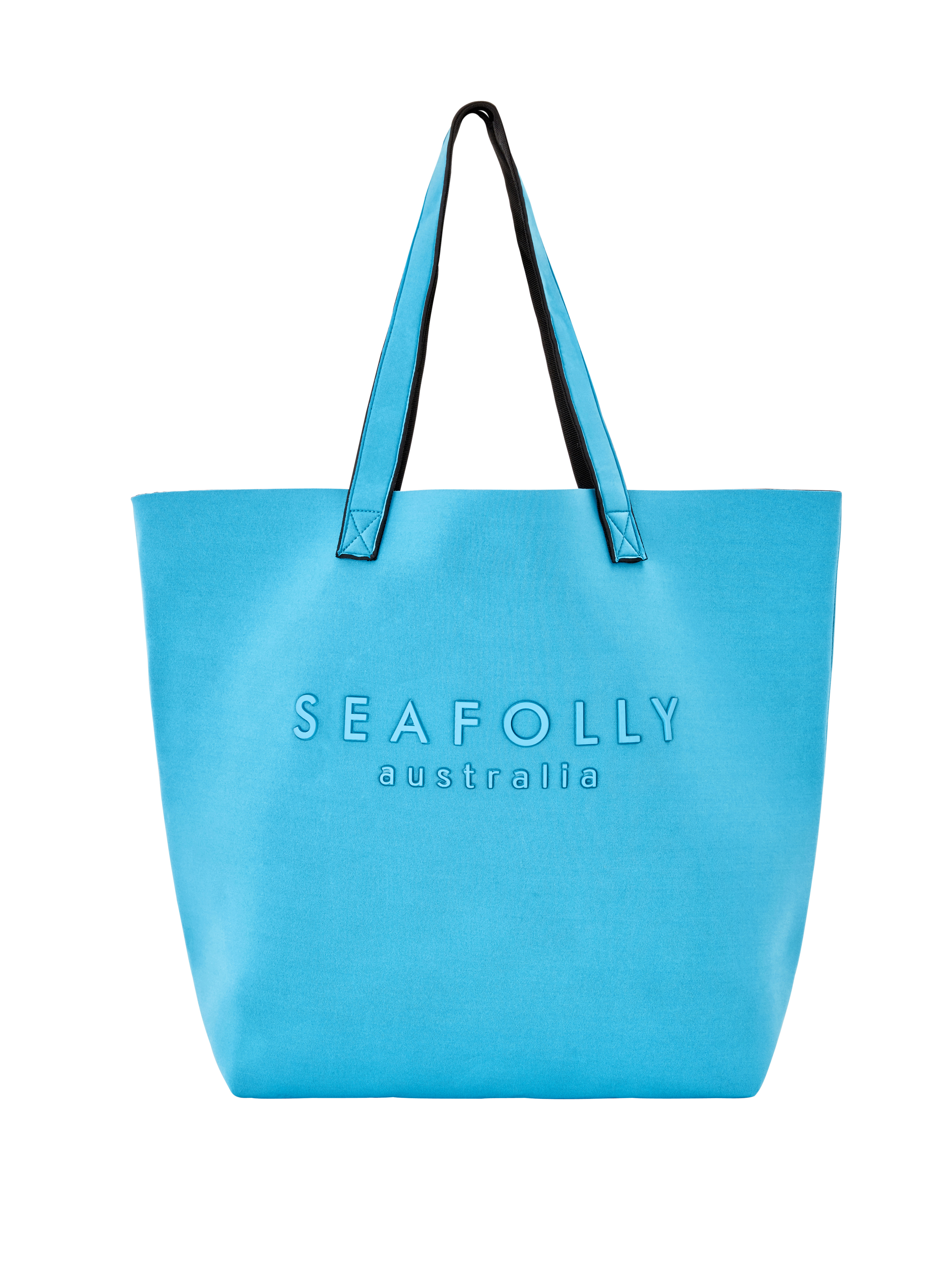 Seafolly Luxe Tote - Bluemist
