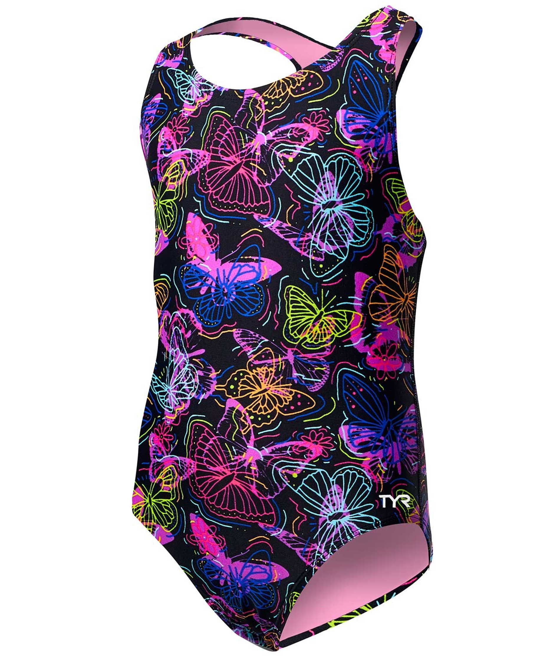 TYR Girls Mariposa Ella Maxfit Swimsuit
