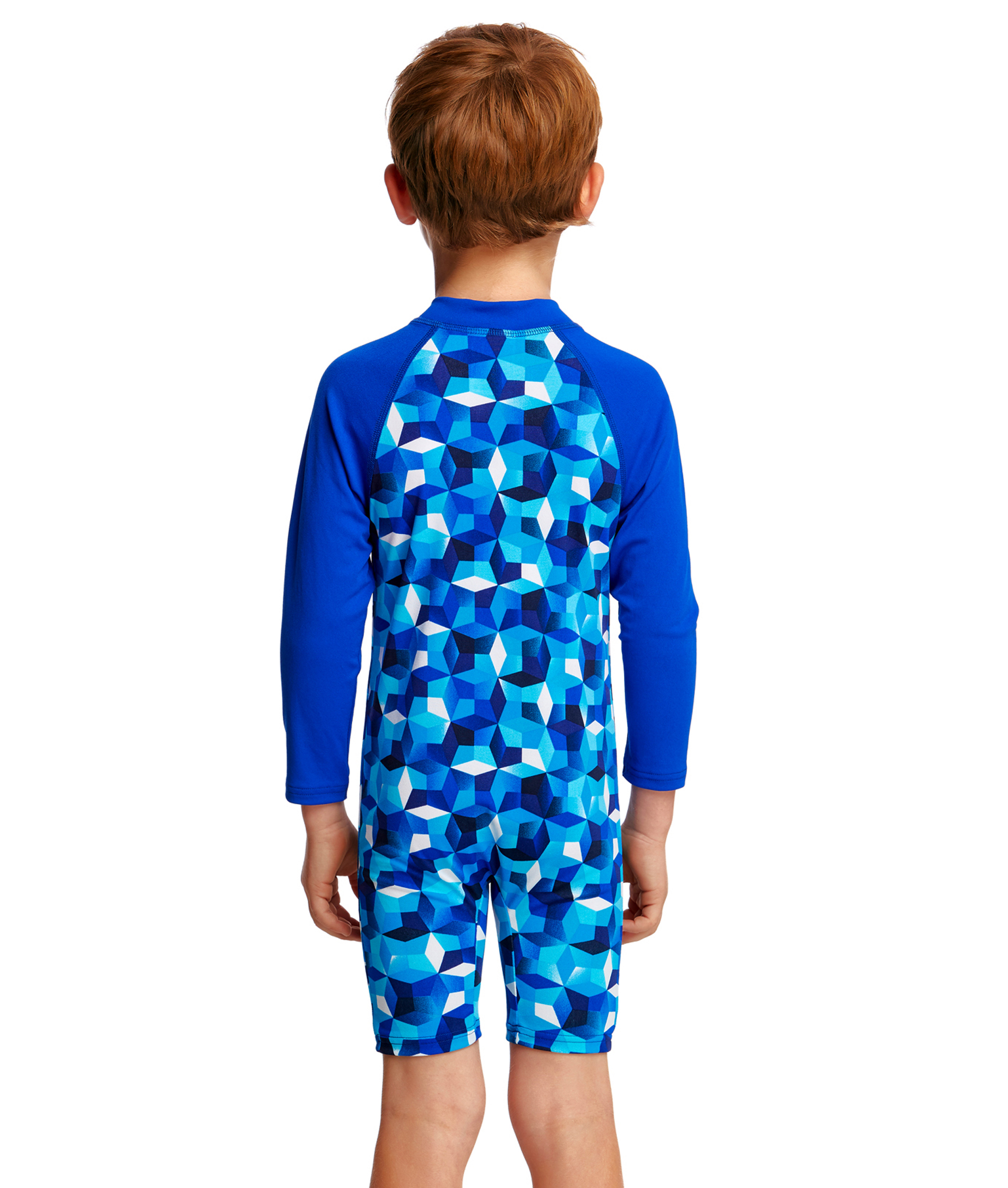 Funky Trunks Toddler Boys Ice Fortress Go Jump Suit