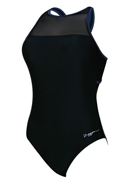 Zoggs Ladies Sacred Craft Mesh Hi Front Swimsuit
