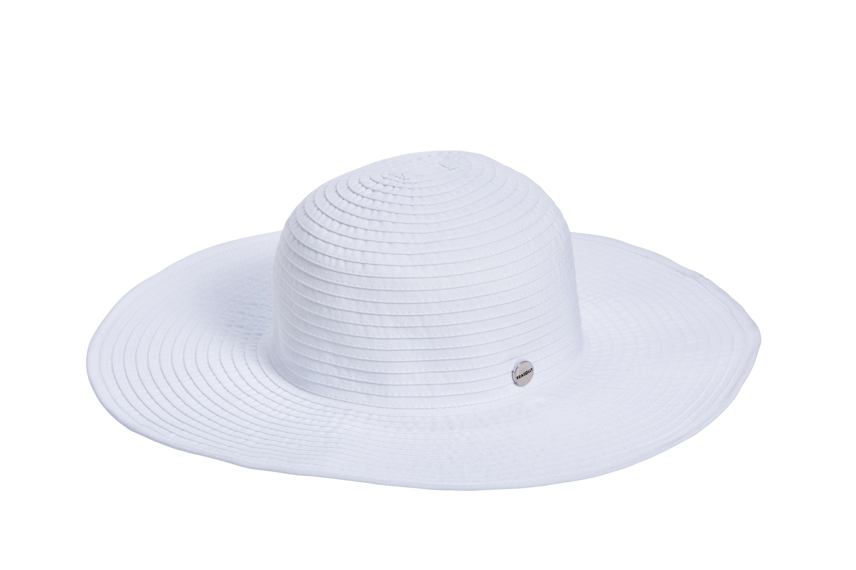 Seafolly Shady Lady Lizzy Hat - White
