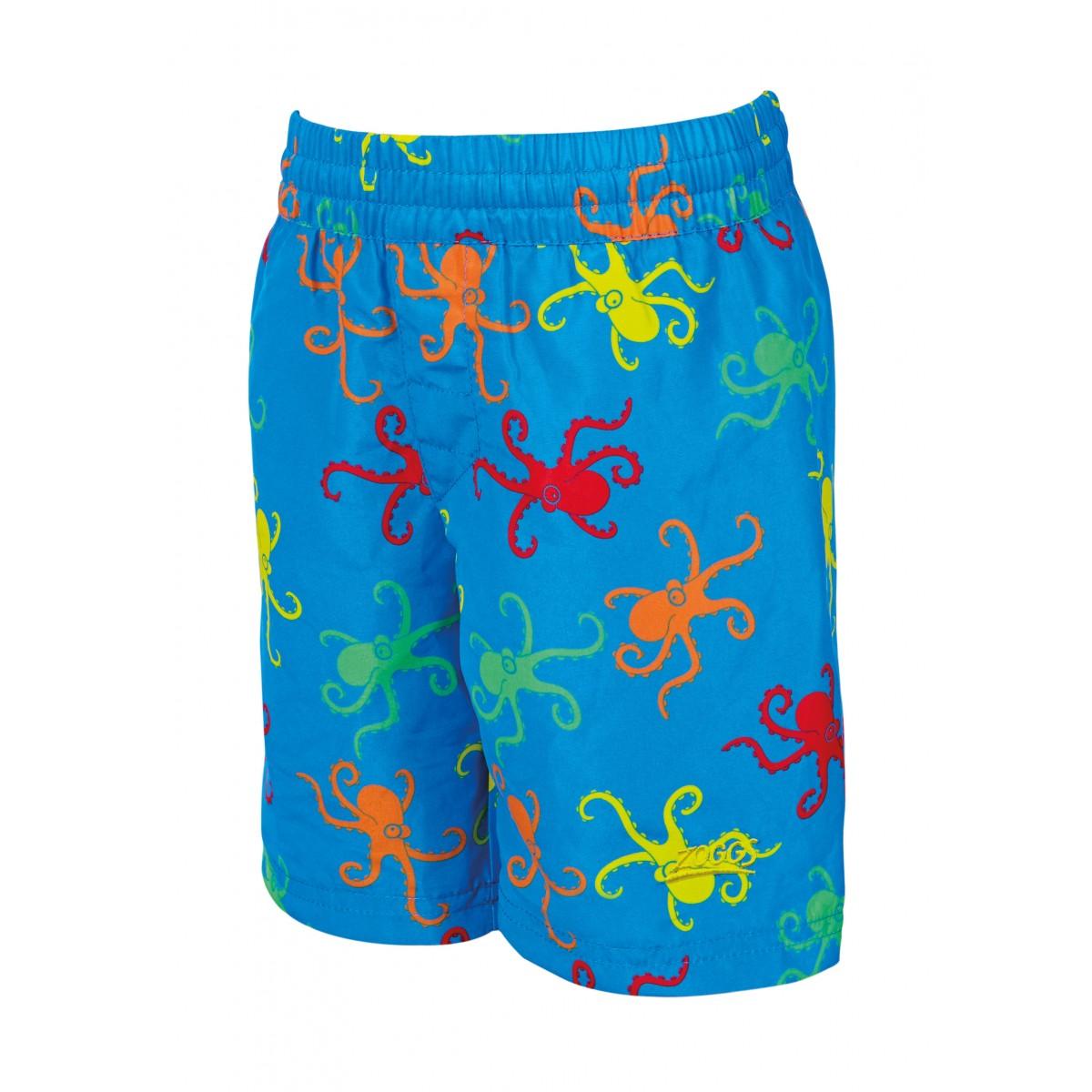 Zoggs Boys Octopus Fever Watershort - Blue