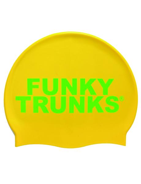 Funky Trunks Gold Swim Cap