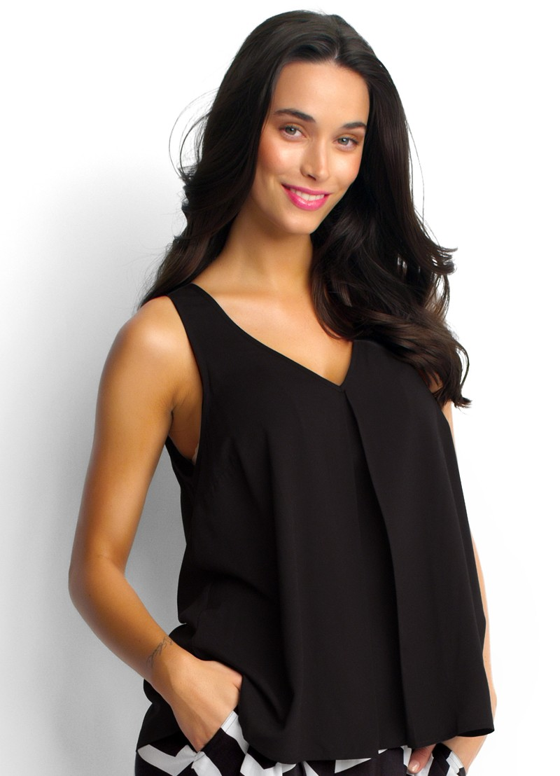Seafolly Oceania Top in Black or White