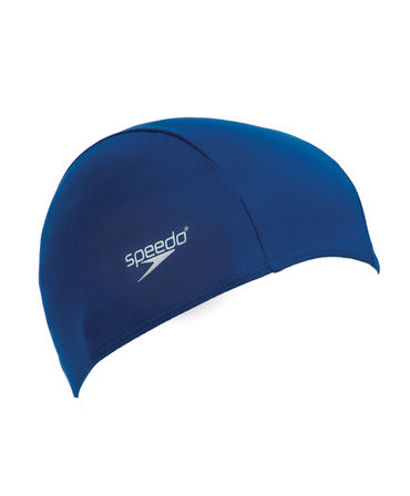 Speedo Polyester Junior Swim Cap - various colours