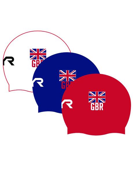 TYR British Swimming Silicone Swim Cap