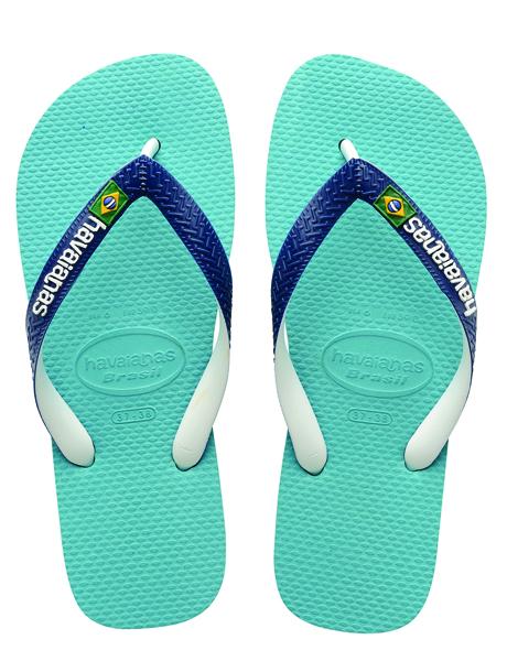 Havaianas Mens Brasil Mix Blue
