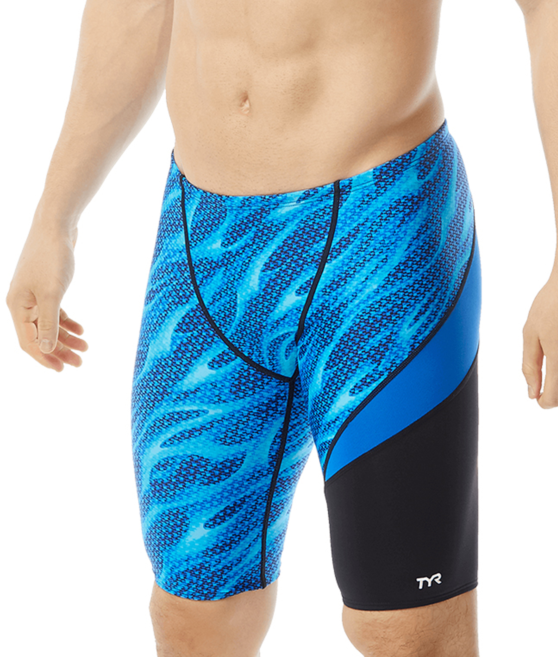 TYR Mens Reaper Wave Jammer - Black/Blue