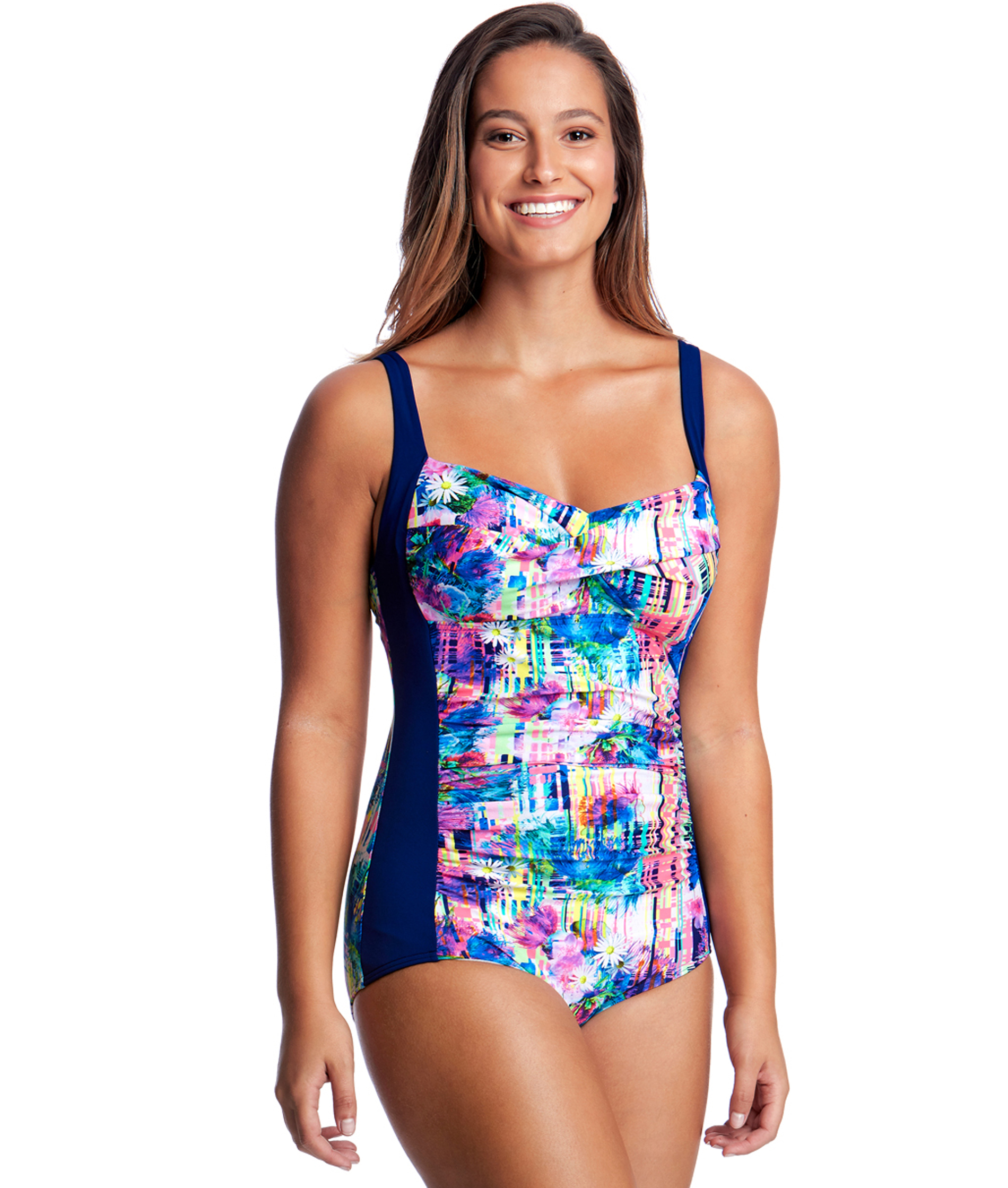 Funkita Form Ladies Alba Wild Ruched One Piece DD-E cup