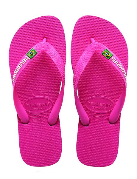 Havaianas Brasil Logo Rose
