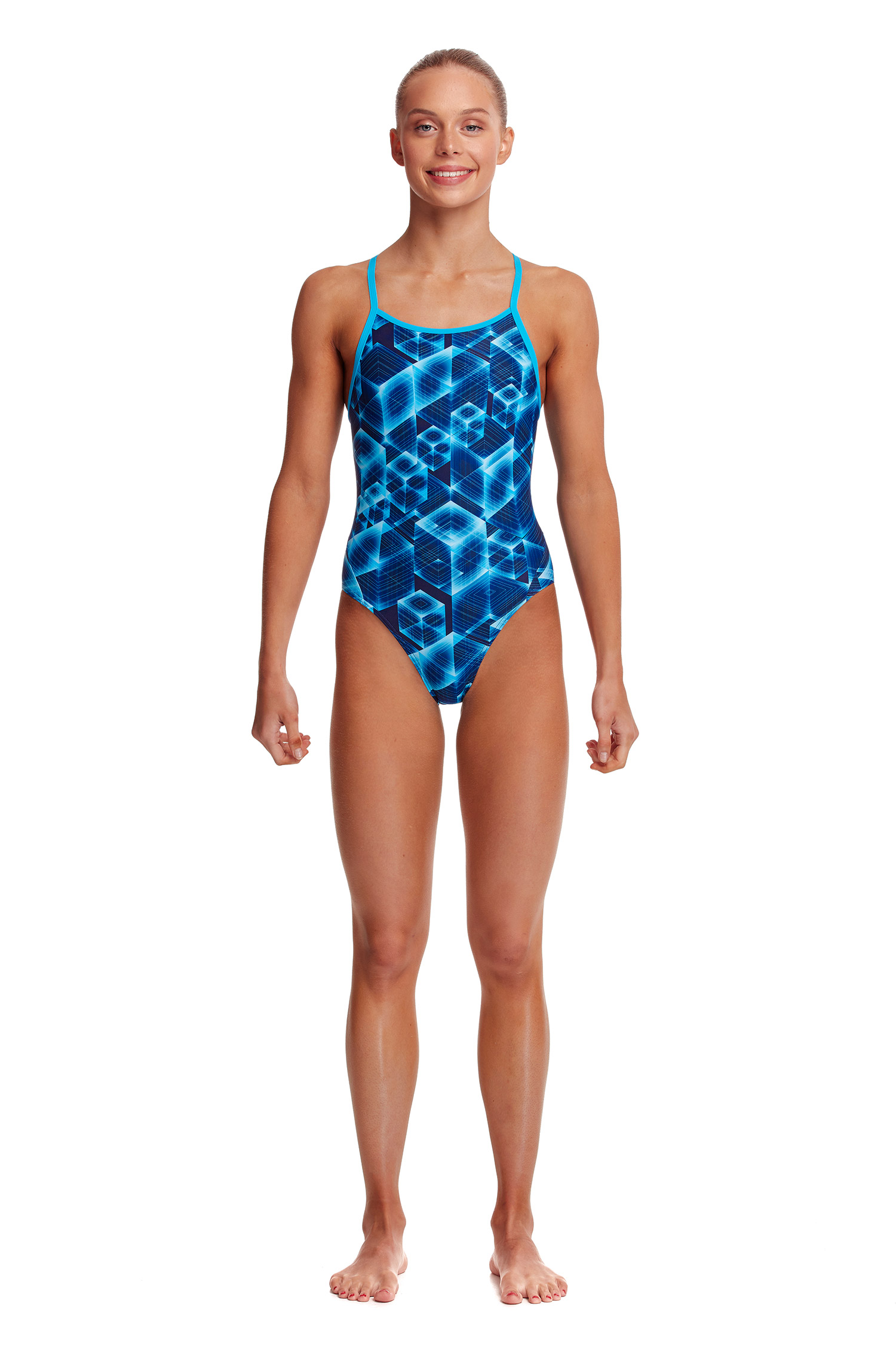 Funkita Girls Another Dimension Diamond Back One Piece