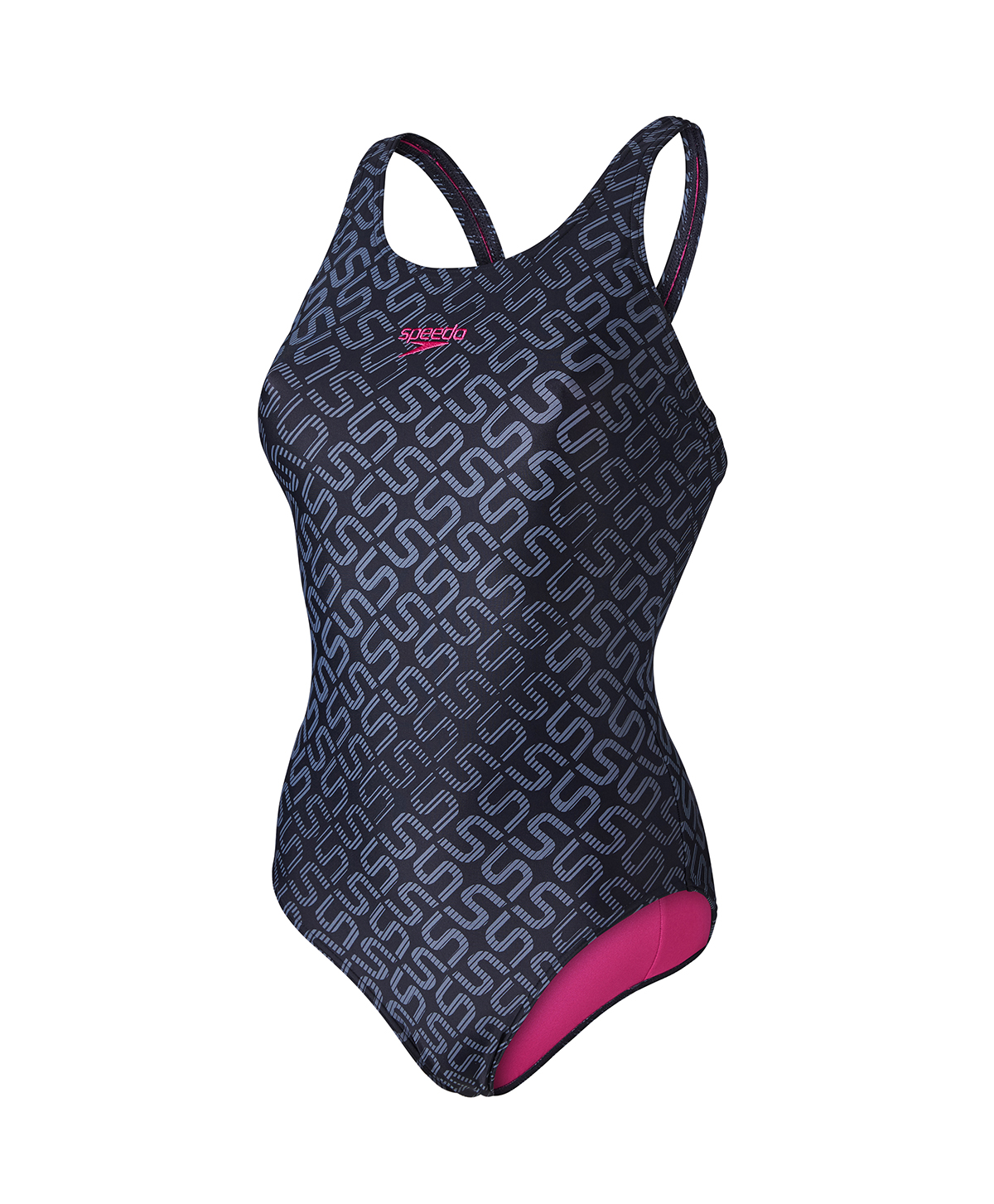 Speedo Ladies Monogram Allover Muscleback