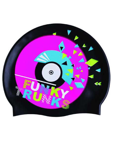 Funky Trunks Disco Stu Swim Cap