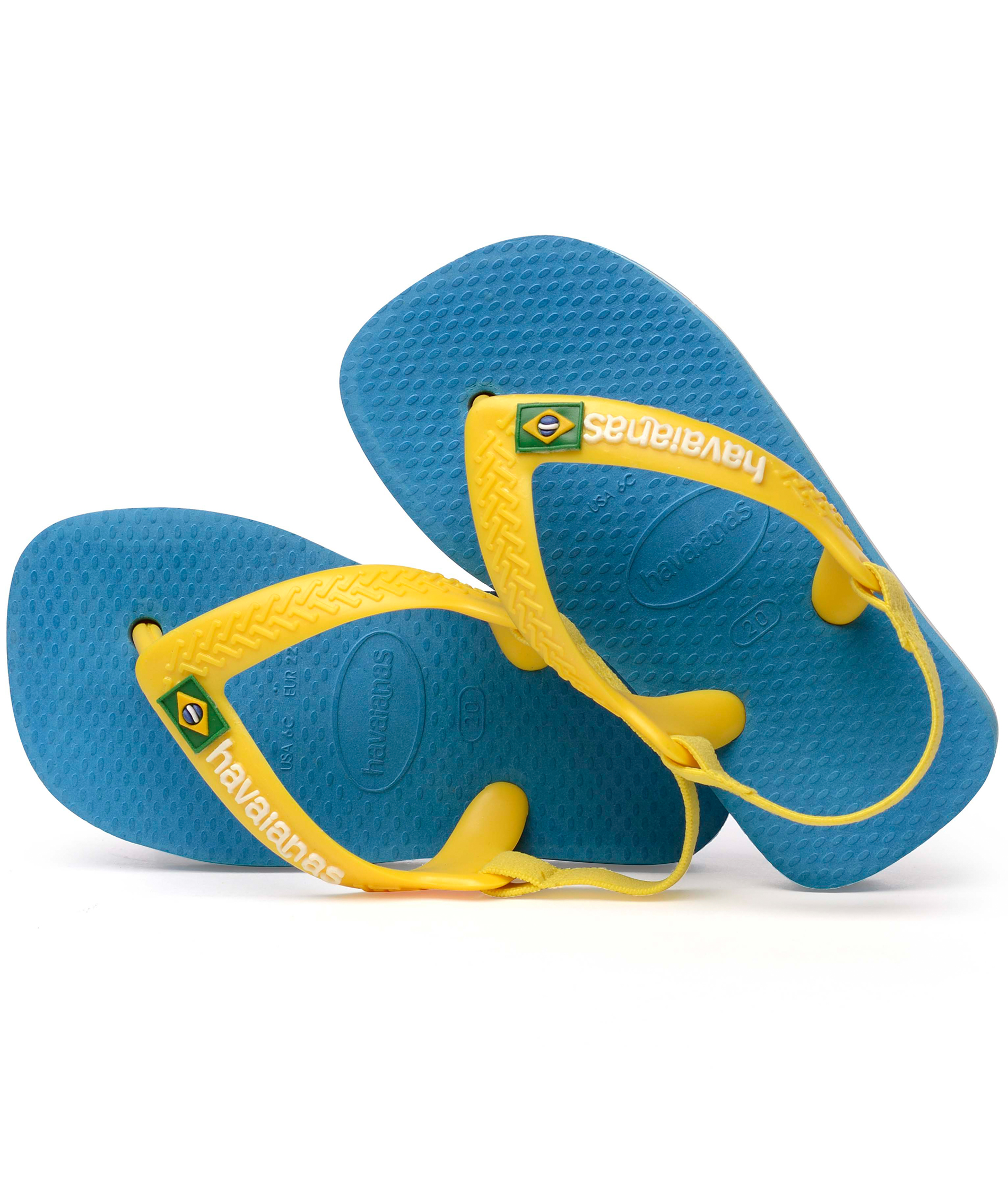 Havaianas Baby Brasil Logo II - Turquoise