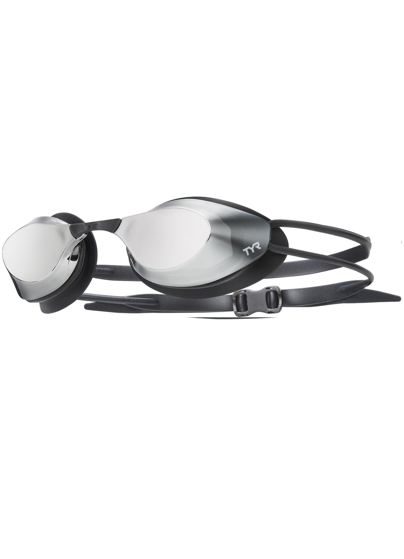 TYR Performance Mirrored Stealth Racing Goggles