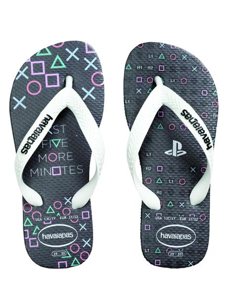 Havaianas Kids Playstation - Graphite