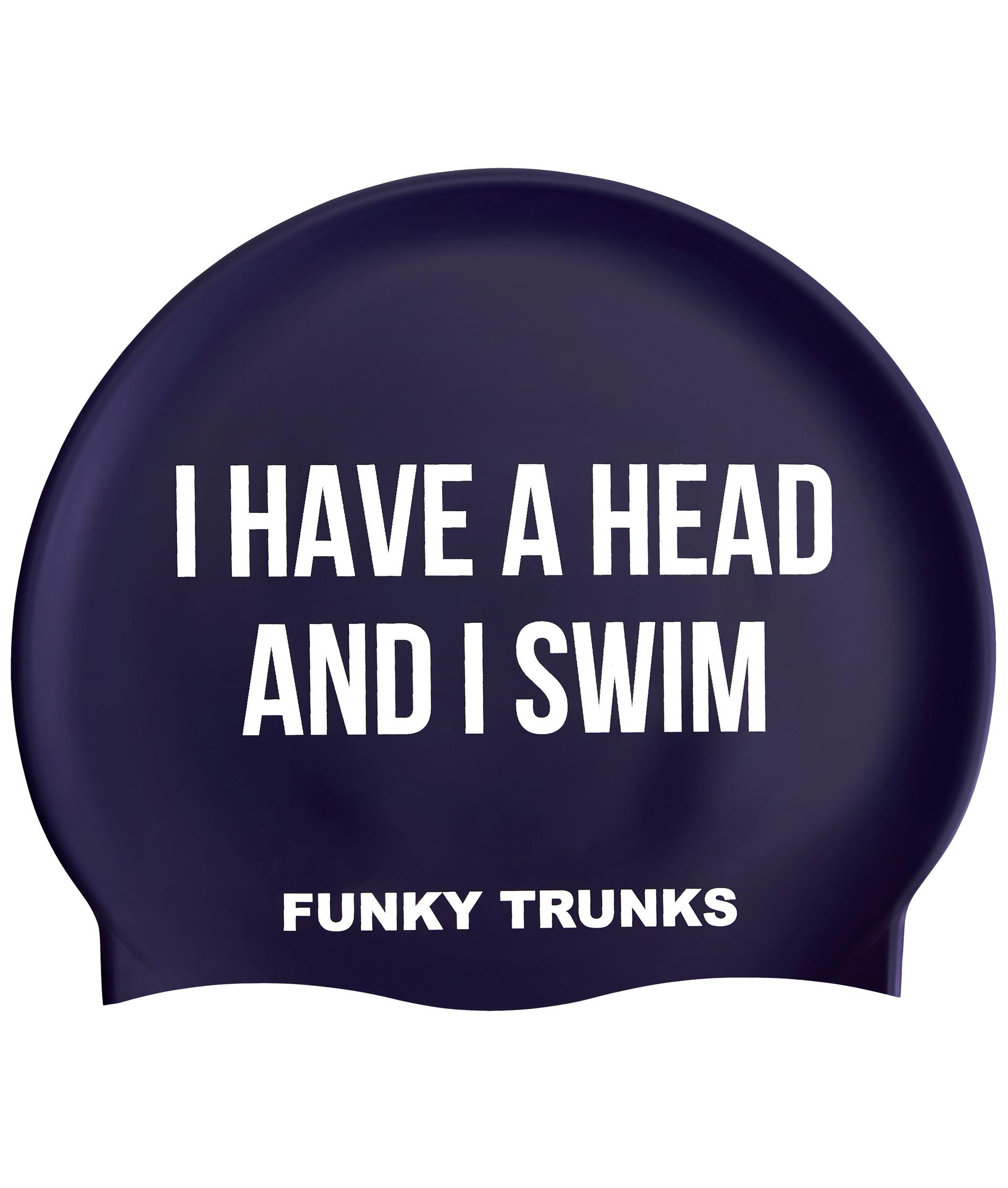 Funky Trunks Get A Head Swim Cap