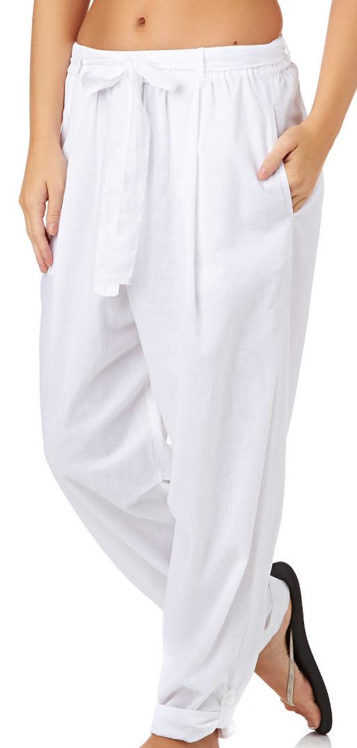 Seafolly Tourist Pant - White