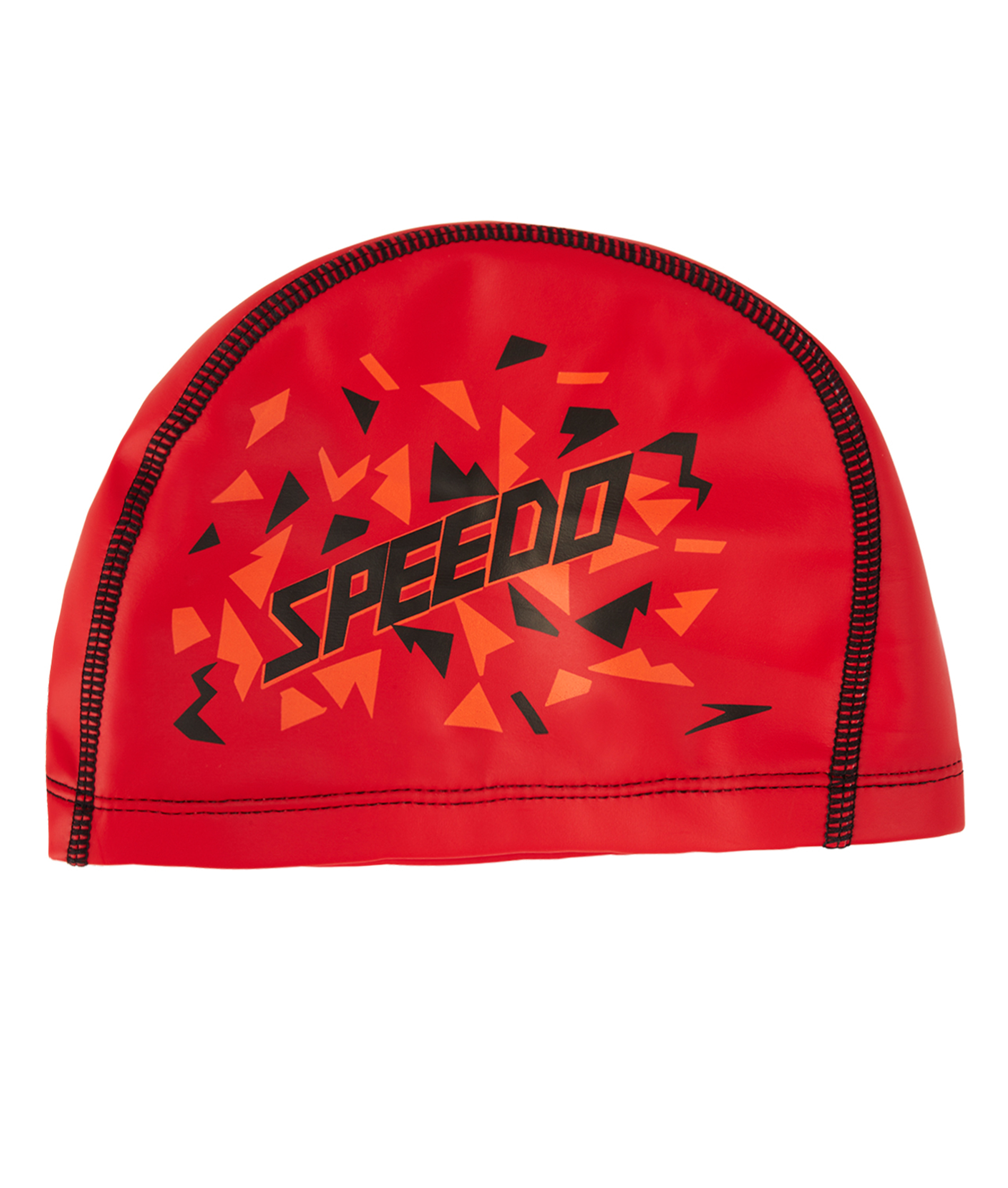Speedo Printed Junior Pace Cap - Red/Orange