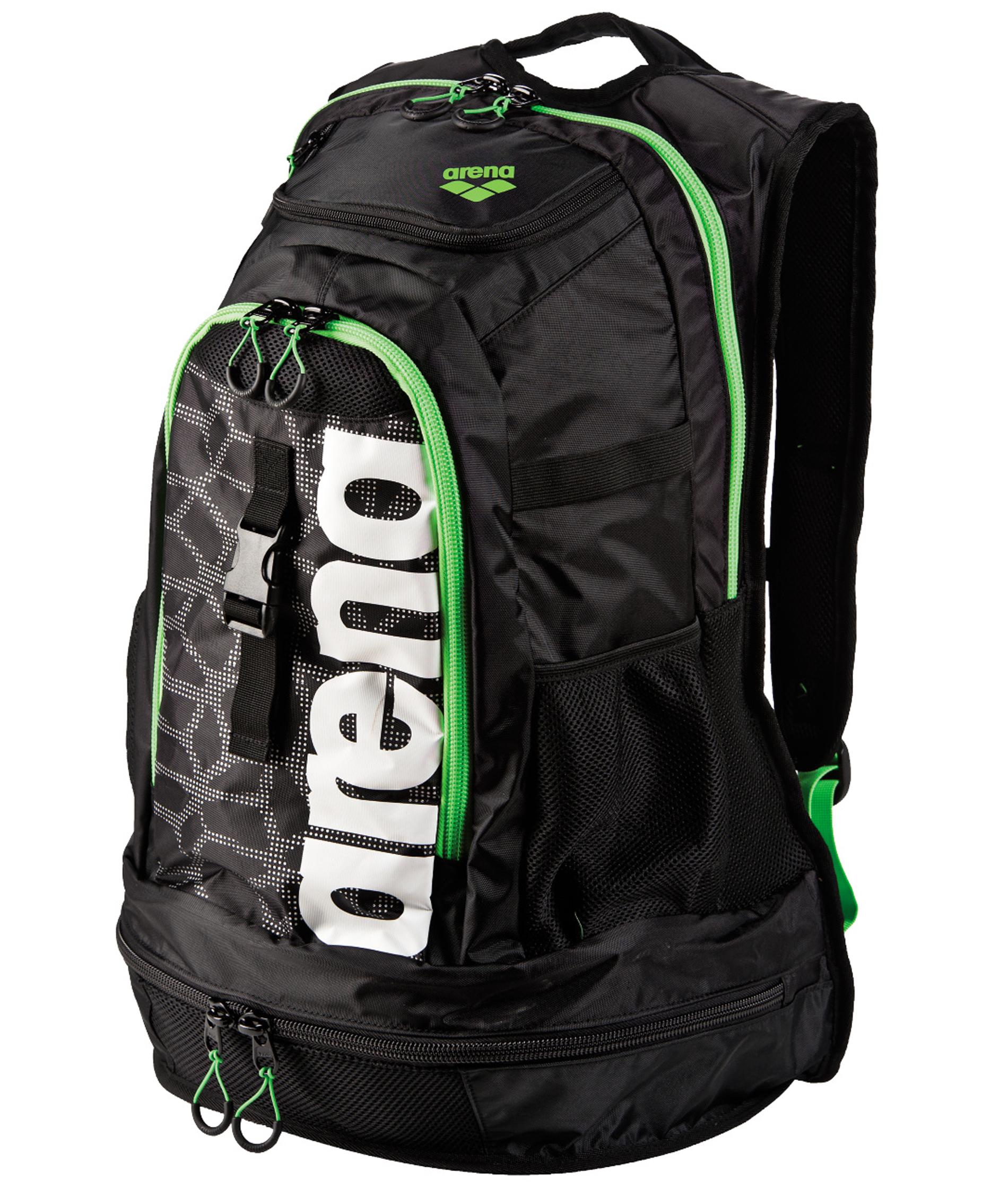 Arena Fastpack 2.1 Black X-Pivot/Green Backpack