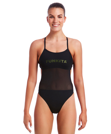 Funkita Ladies Night Lights Mesh Up One Piece