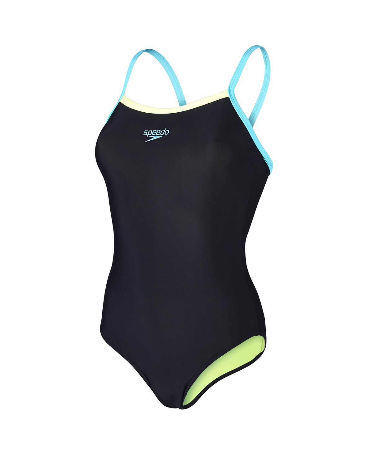 Speedo Ladies Thin Strap Muscleback - Black