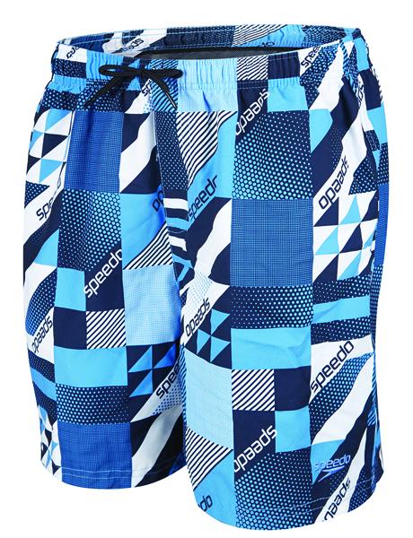 Speedo Boys Prt Leis 15 Watershort - Navy/Blue
