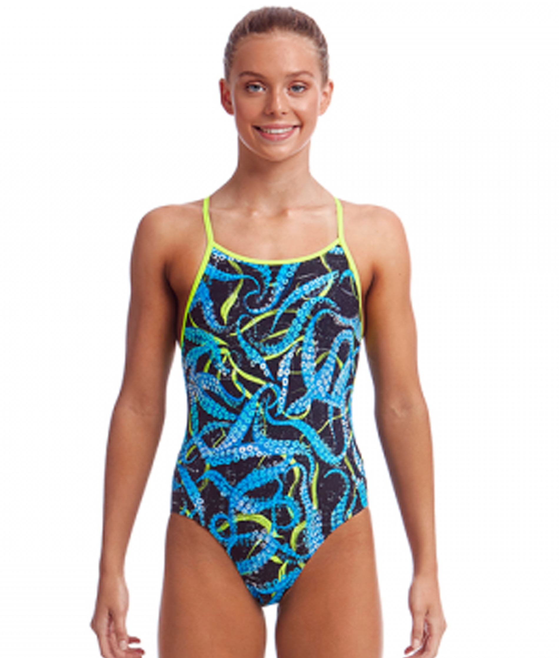 Funkita Girls Sucker Punch Diamond Back One Piece